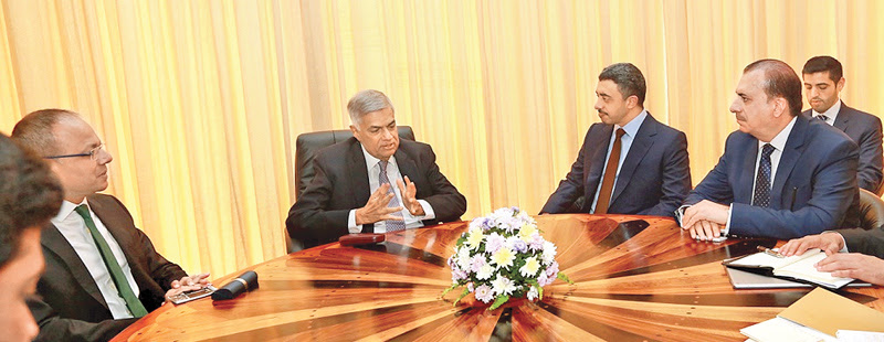 Prime Minister meets UAE Foreign Minister