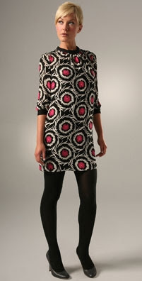 Milly Pinwheel Print Shift Dress