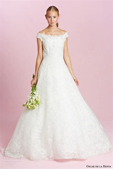 Oscar de la Renta Bridal Fall 2015 Wedding Dresses