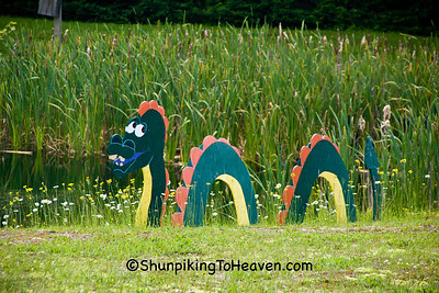 Sea Serpent (Loch Ness Monster) by Pond, St. Louis County, Minnesota