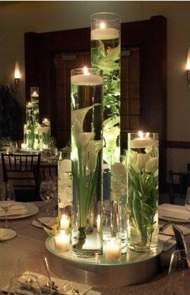 submerged flowers wedding