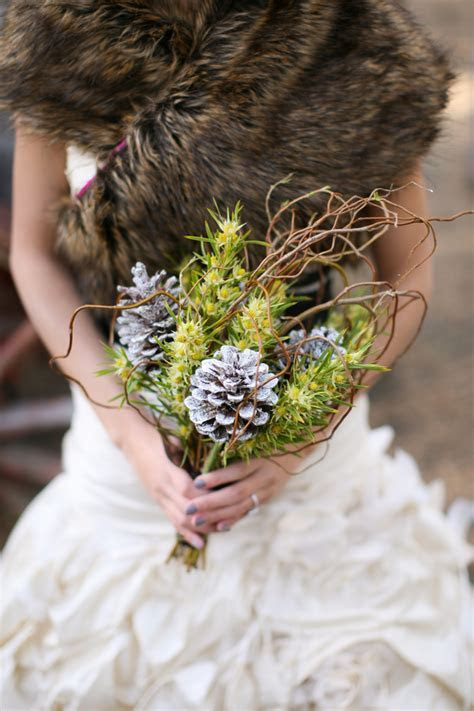 Rustic Winter Bridal Inspiration Shoot   Rustic Wedding Chic