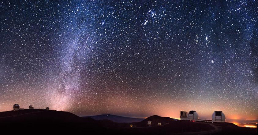 Observatorio de Keck descubre dos gigantescos cuerpos celestes