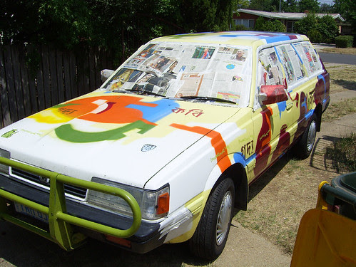 car before