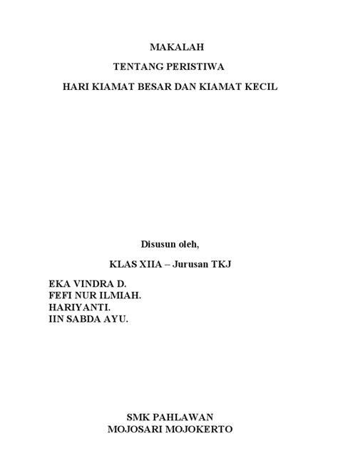 MAKALAH_KIAMAT