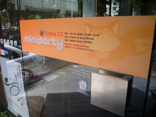 Moztw Firefox 3.5 mini party