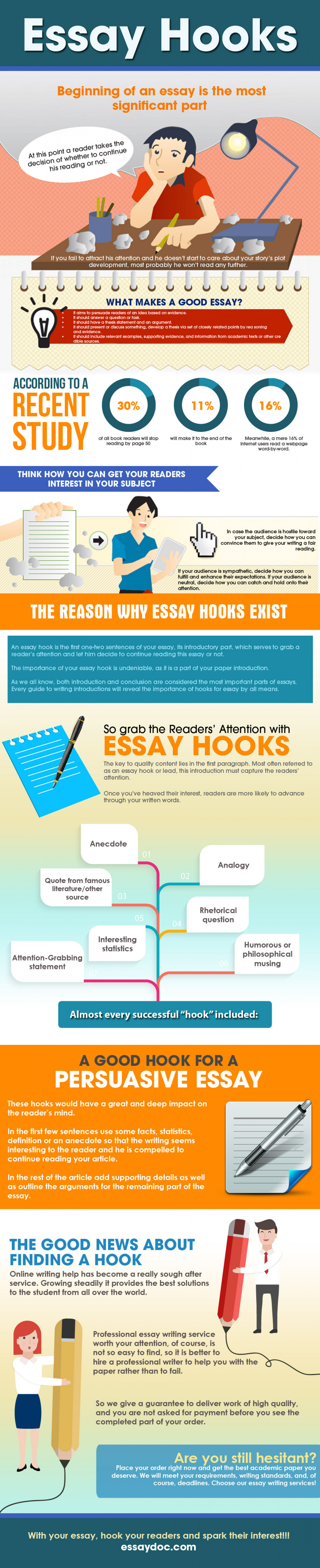 how to write the perfect hook for an essay