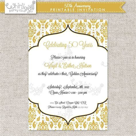 Best 25  Anniversary party invitations ideas on Pinterest