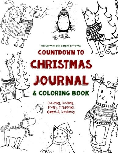 Free Download: Countdown to Christmas Journal & Coloring ...
