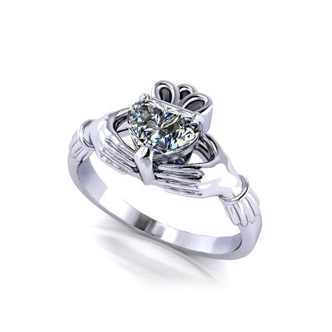 Claddagh Engagement Ring   Jewelry Designs