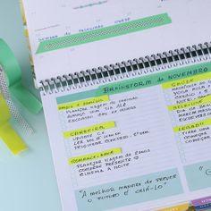 É muito divertido decorar seu Daily Planner... #meudailyplanner ...