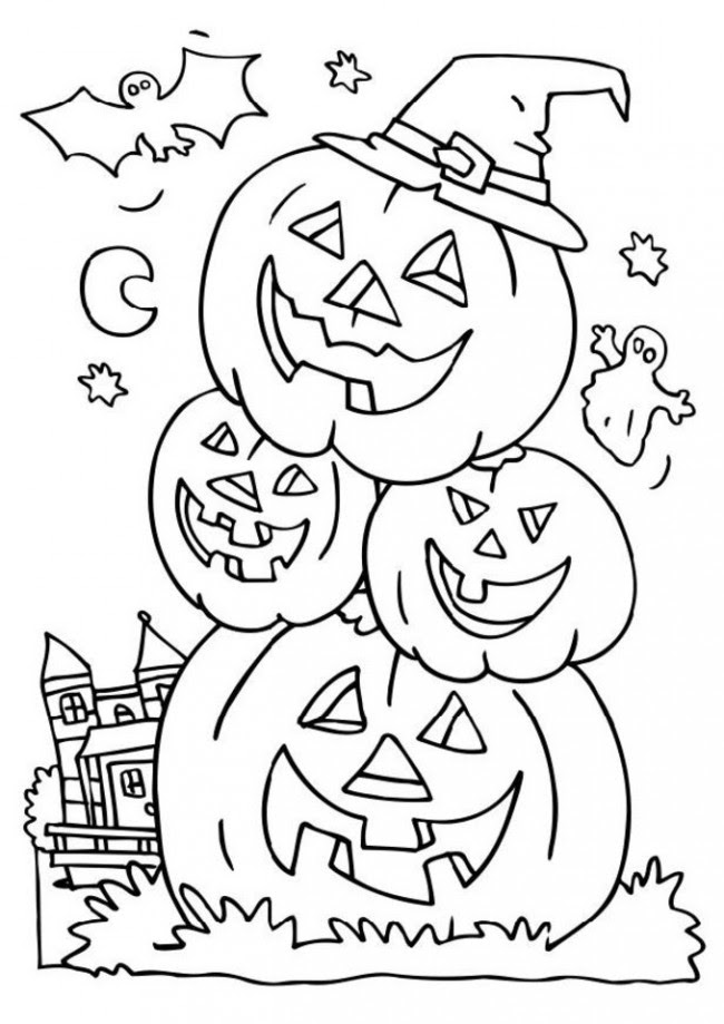 Christmas Coloring Books To Print Tag: Halloween Adult Coloring ... | 919x650