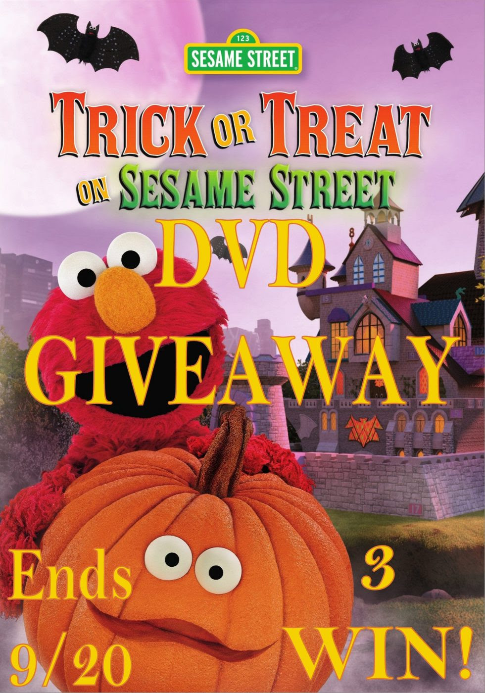 Sesame Street Trick or Treat on Sesame Street 3 WIN Giveaway