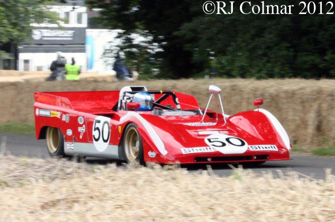 Ferrari 712, Goodwood Festival of Speed