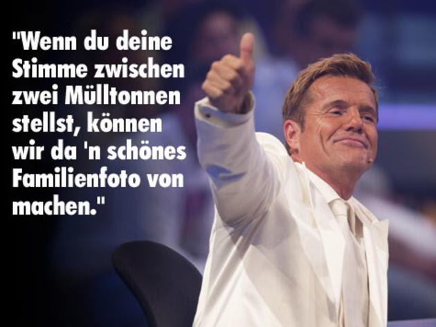 Dieter Bohlen Sprüche