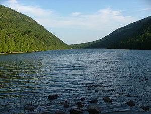 Bubble Pont from south, Acadia National Park, ...