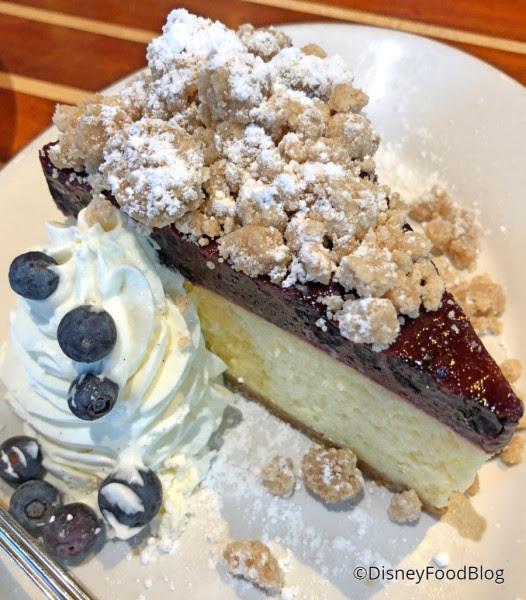 New York Style Blueberry Cake Cheesecake