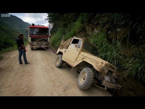 video que muestra un fragmento del programa Top Gear