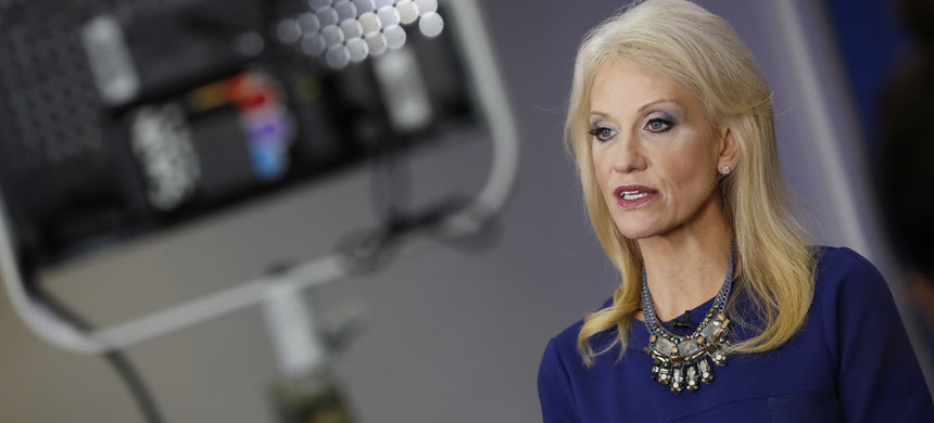 Counselor to the president, Kellyanne Conway. (photo: AP)