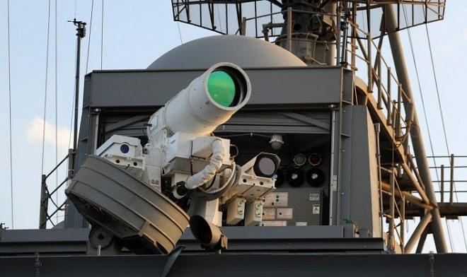 Армия США строит самый мощный боевой лазер в мире