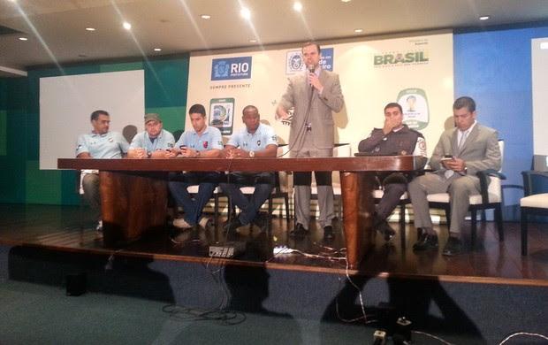 Reunião Torcidas organizadas (Foto: Vicente Seda)