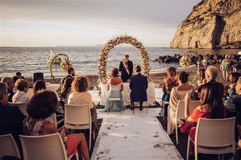 Beach Wedding and Meta di Sorrento Reception   Perfect