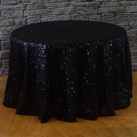 "120"" Round Sequins Tablecloth   Buy sequins linens"