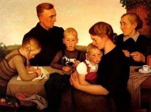 Adolf Wissel, Kalenberger Bauernfamilie (1939)
