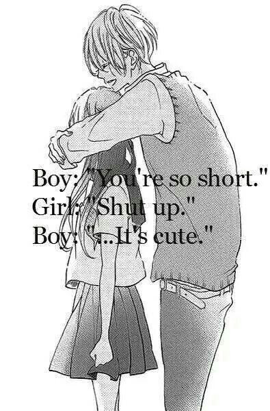 Boy Cute Girl Lol Love Quotes Short Shutup Image 2054507