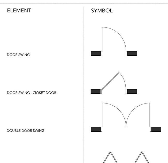 How To Draw Door On Floor Plan The Door