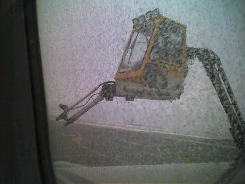De icing the plane