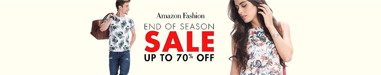 Amazon Fashion: End of season sale