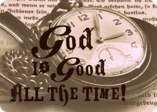 5 Minutes For Faith God Is Good All The Time