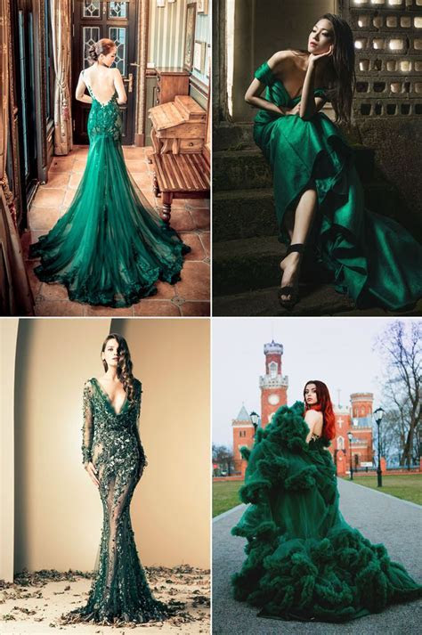 25  Best Ideas about Green Gown on Pinterest   Emerald