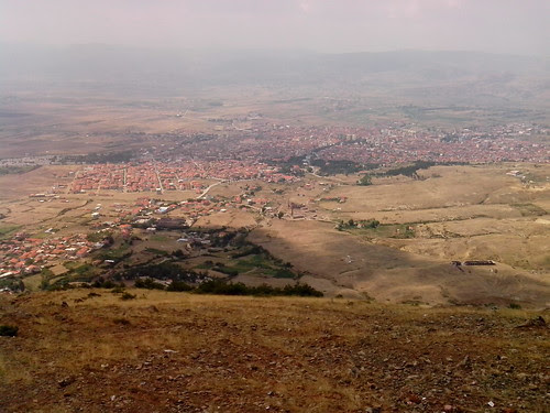 Korça visto da Morava by Ylbert Durishti