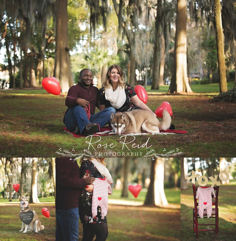Valentines Day Pregnancy Announcement Orlando Happy Valentines