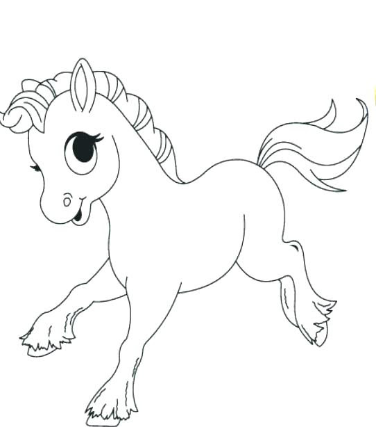 Cute Horse Coloring Pages at GetColorings.com | Free ...