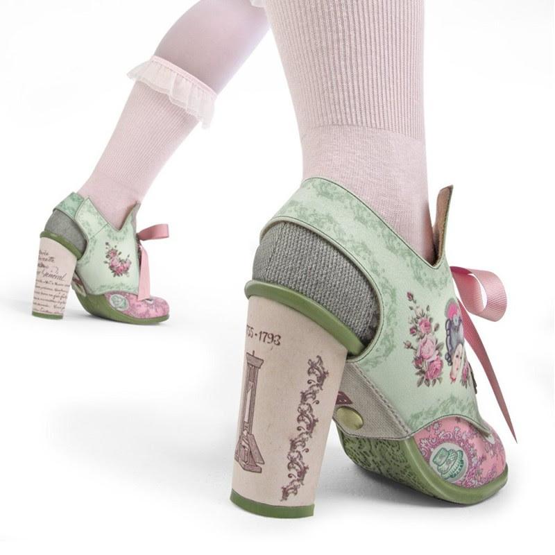 Hot Chocolate Design Chocolaticas High Heels Marie Antoinette Women's Mary Jane Pump