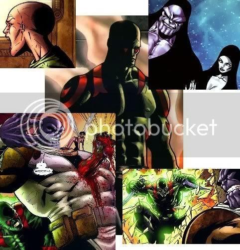 Drax, Serpente da Lua e a morte de Thanos