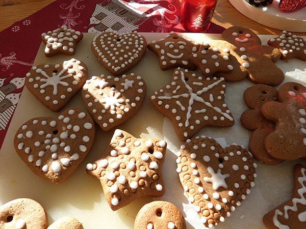 pains décorés