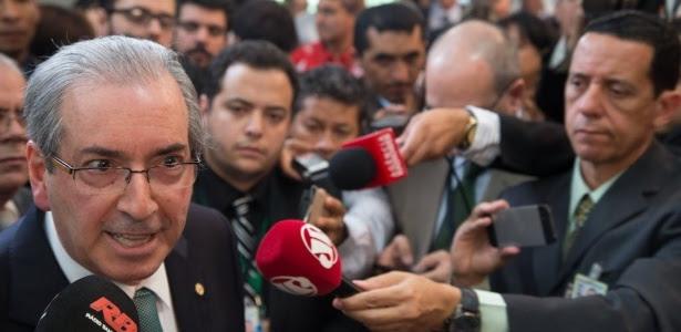 Eduardo Cunha anunciou que será oposição ao governo -- embora seu partido seja da base aliada