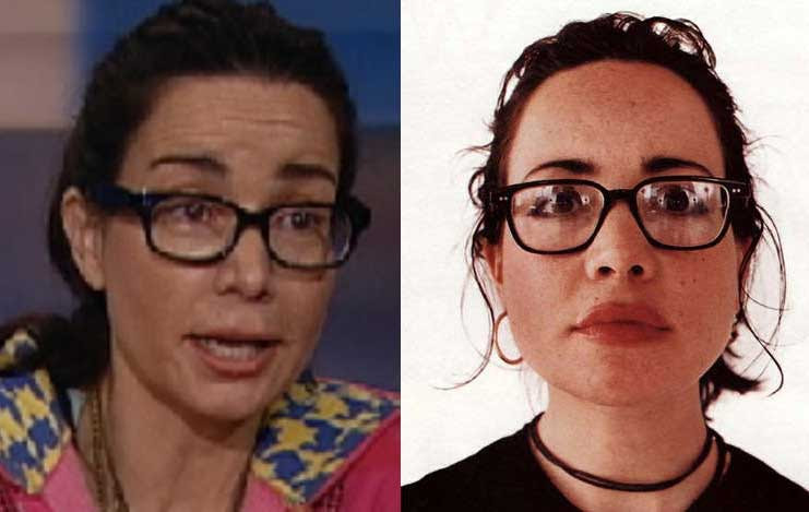 Janeane Garofalo before and after pictures (image hosted by usbacklash.org)