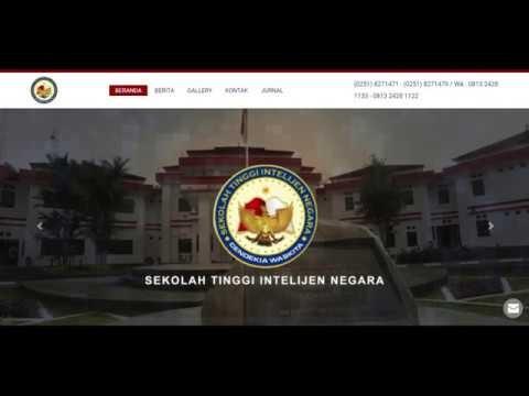 PENDAFTARAN SELEKSI PENERIMAAN TARUNA/I STIN T.A. 2020/2021