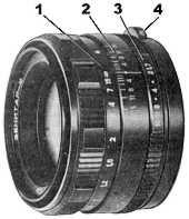 Zenitar-M 1.7/50 parts - click to zoom