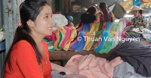 Vietnam || Cai Tac Village Market || Hau Giang Province