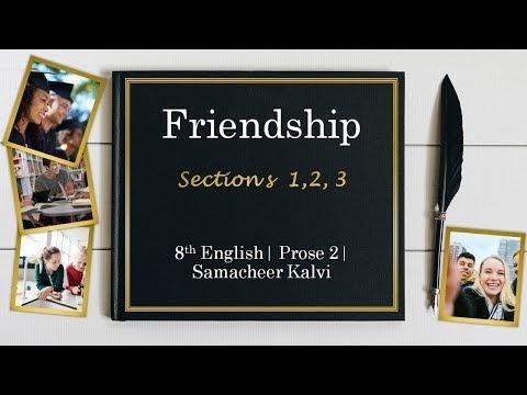 8th English Prose 2 Sections 1,2,3 Unit 2 Kalvi TV