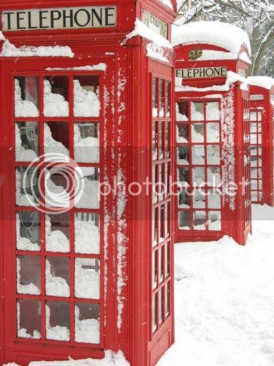 londra phone box