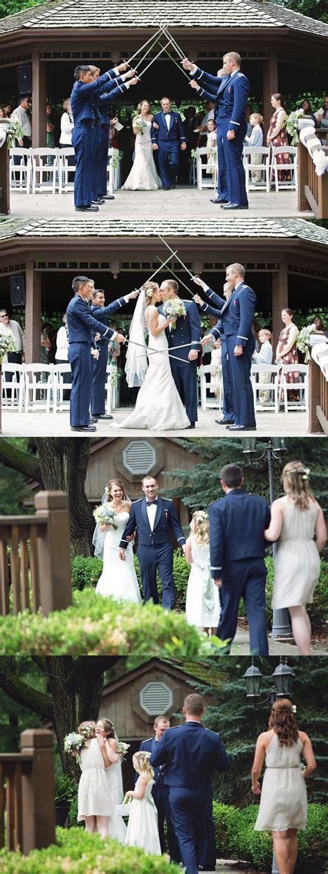 Air Force wedding ceremony, Elms Resort wedding ceremony
