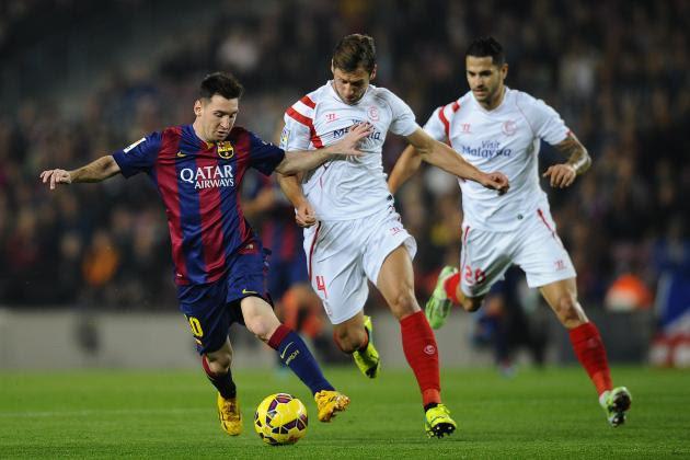 Resultado de imagem para Barcelona x Sevilla