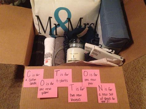 Second wedding anniversary gift for him  cotton! John